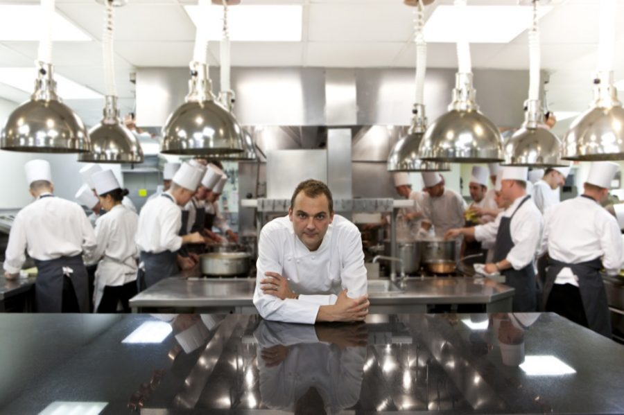 Daniel Humm, Executive Chef of Eleven Madison Park, NY.