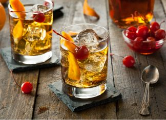 Coctel Old fashioned