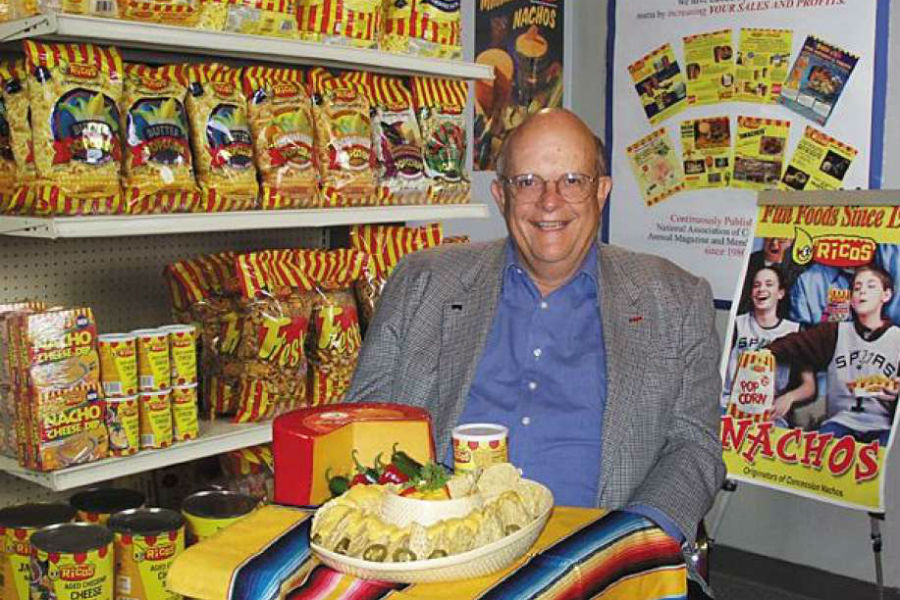 "Frank Liberto ""The father of the nachos"""