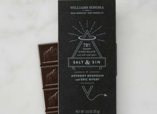 salt and sin Chocolate