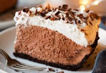 mousse pie chocolate