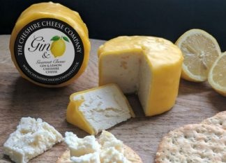 Queso Gin and Lemon Cheshire Cheese