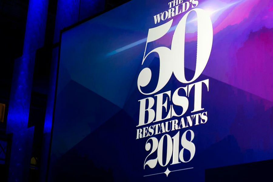 Anunciados The World's 50 Best Restaurants 2018