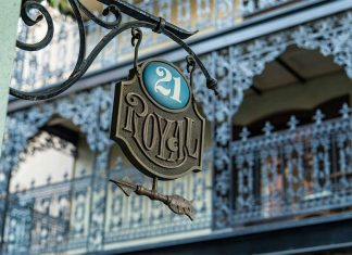 21 Royal, un exclusivo restaurante en Disneyland