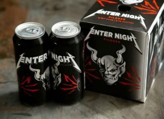 Enter Night cerveza oficial de Metallica
