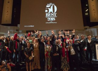 The World's 50 Best Restaurants tendrá cambios para 2019