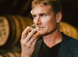 David Coulthard y Highland Park Whiskies