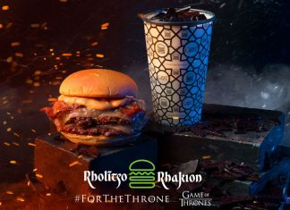 ShakeShack menú Game Of Thrones Valyrio