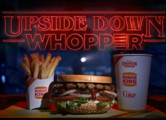 "Una hamburguesa para ir al ""Upside Down"" de Stranger Things"