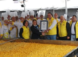 Guinness World Records Huevos Revueltos