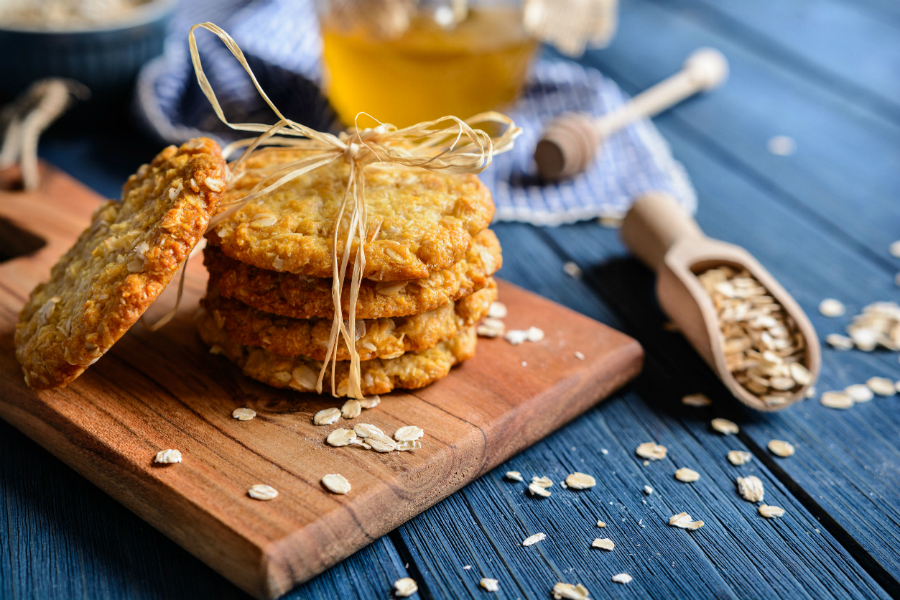 Galletas Anzac biscuits