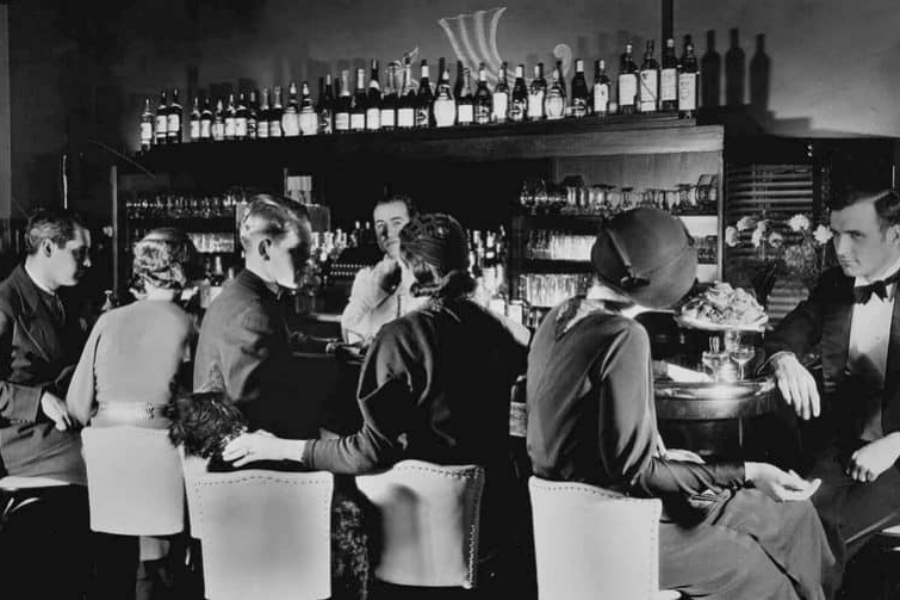 Bar clandestino Speakeasy