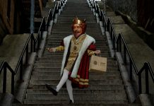 King Stairs Burger King Joker