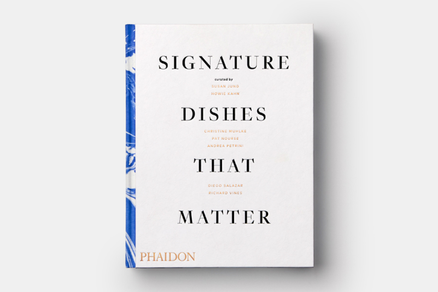 Libro Signature Dishes that Matter
