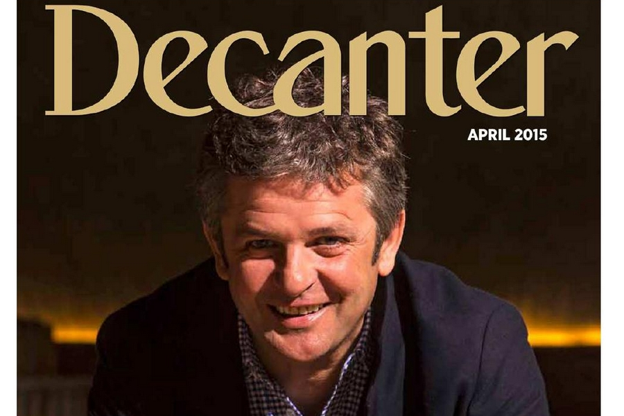 Álvaro Palacios, 'Man of the Year' y portada de Decanter en 2015