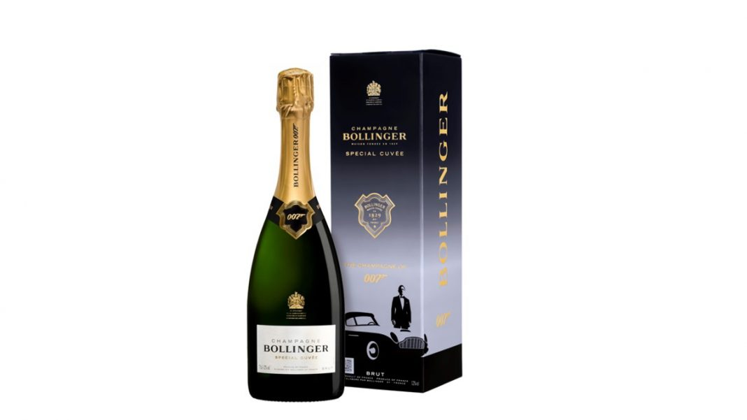 Champagne Bollinger Special Cuvée 007 Limited Edition